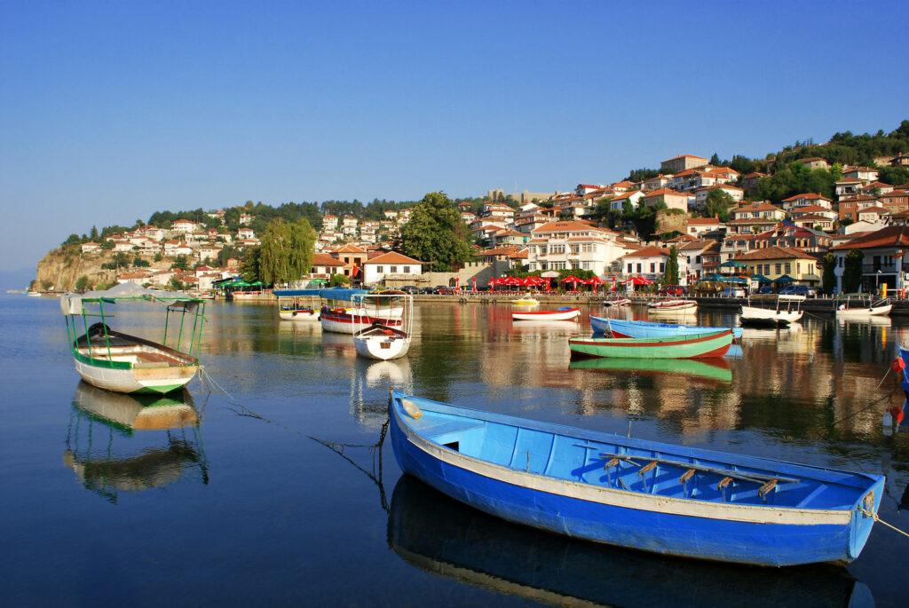 Mini port de pêche - croatie