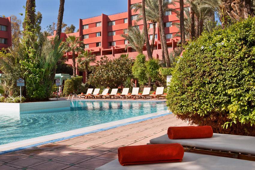 piscine hotel - marrakech