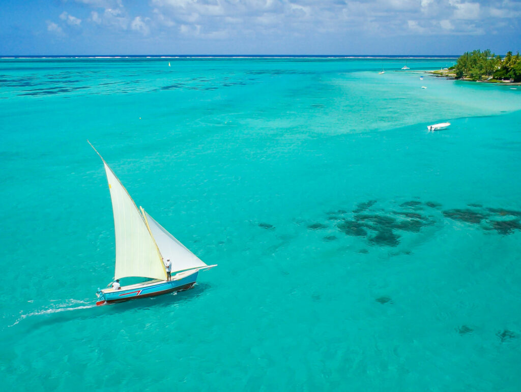 Voilier a l i'ile maurice