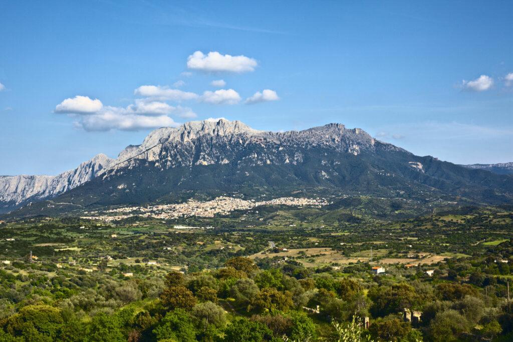 vue montagne sardaigne