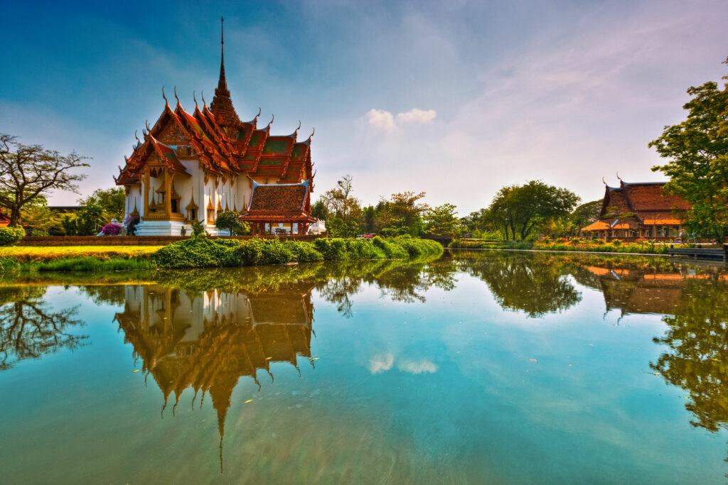 jolie maison thailandaise