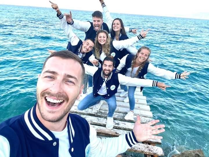 Equipe d'animation Club Marmara King Saron