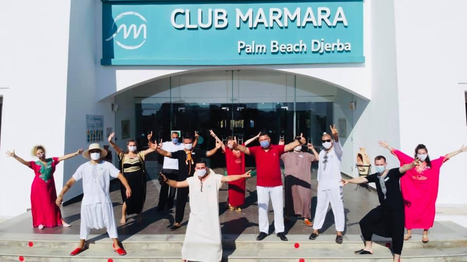 Equipe d'animation Club Marmara Palm Beach Djerba