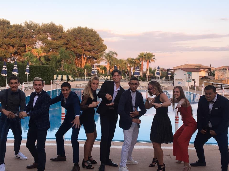 Equipe d'animation Club Marmara Sicilia