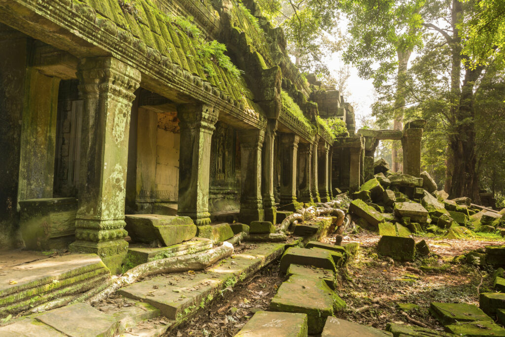 circuit Cambodge - Angkor, Le Voyaging