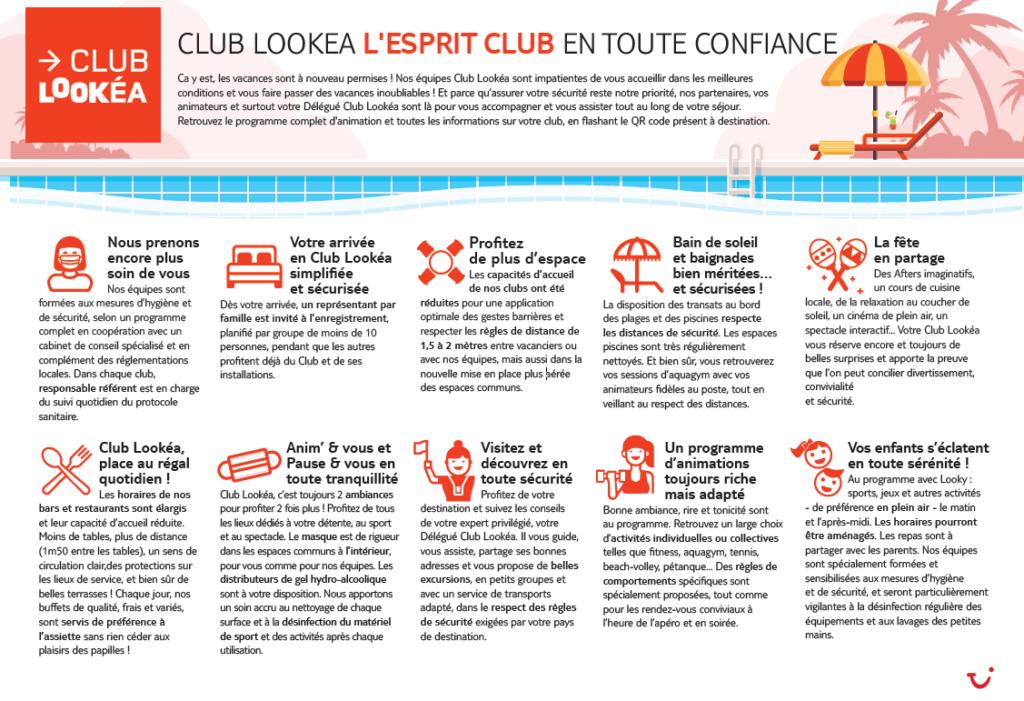 Animation Covid-19 clubs Lookéa